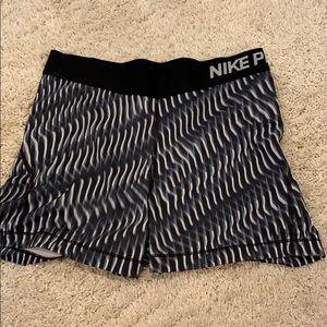 Patterned Nike Pros